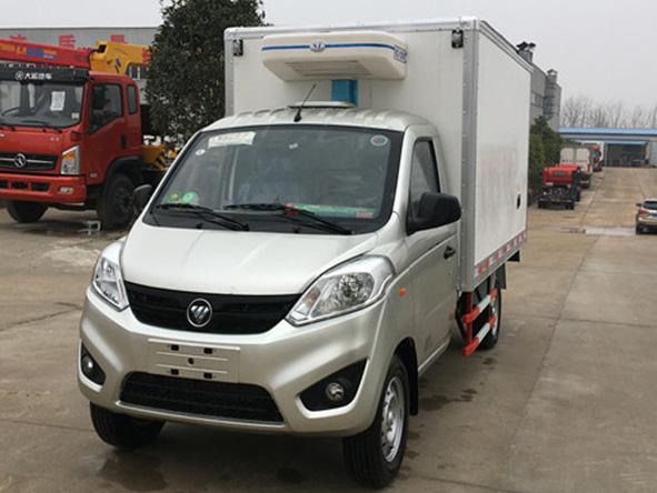 福田伽途 2.8米冷藏车