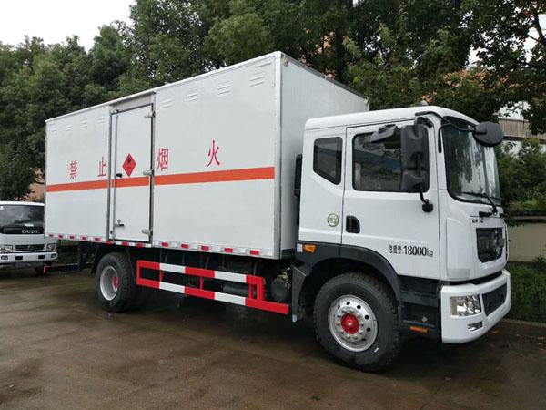 火狐体育电竞6.3米(10.3吨)气体厢式车