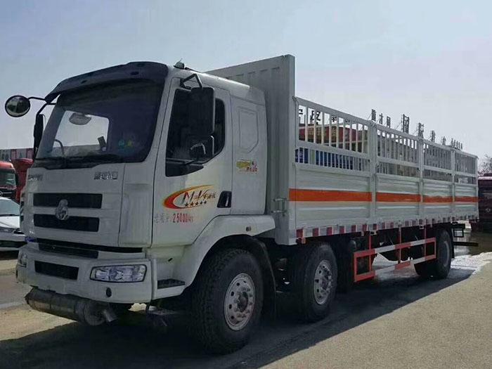 柳汽9.5米(15.3吨)气瓶车