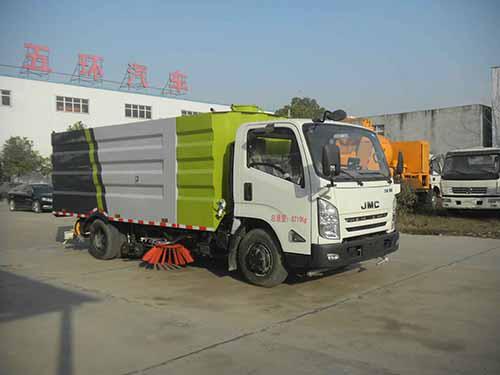 国五江铃洗扫车