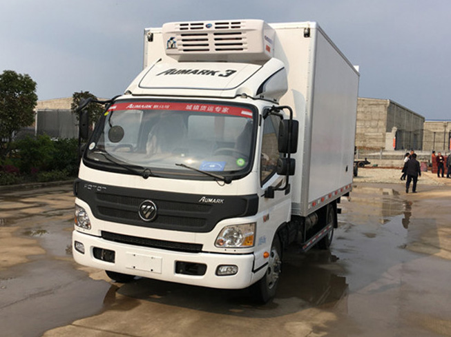 福田欧马可 4.2米冷藏车