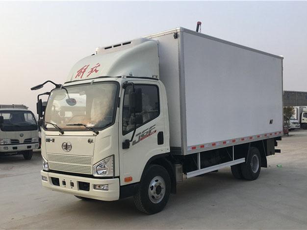 解放虎VJ6F 5.2米冷藏车