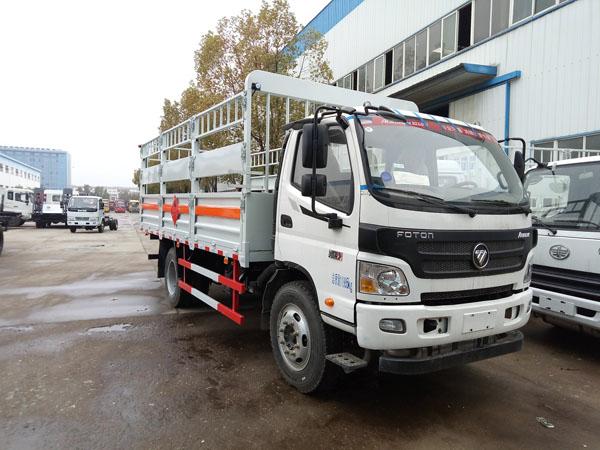 福田5.1米 (7.2吨)气瓶车