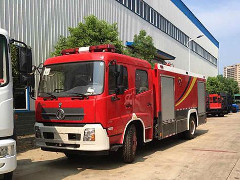 6吨天锦水罐消防车