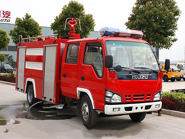 五十铃(600P)2.5吨水罐消防车